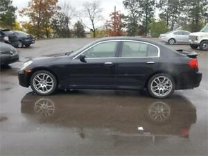 2005 INFINITI G35 BLACK BEAUTY 6 SPEED,,BRAND NEW CLUTCH