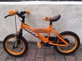 """Kids 14"""" Bike. Huffy by Halfords, excellent condition"""
