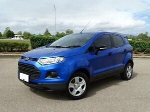 2014 Ford Ecosport BK Ambiente Blue 6 Speed Automatic Wagon Vincent Townsville City Preview