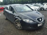SEAT LEON 1.9 BKC BXE 2006 BREAKING FOR SPARES TEL 07814971951 HAVE FEW IN STOCK