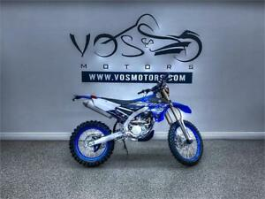 2019 Yamaha WR250F - V3373NP - Free Delivery in GTA**