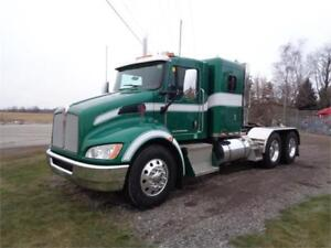 2012 KENWORTH T370 , ONLY 206448 KMS !! 4 WAY LOCKERS