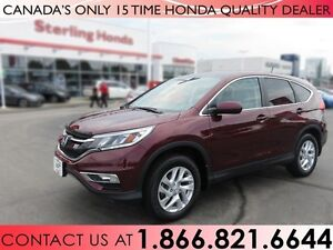 2015 Honda CR-V EX | 1 OWNER | LOW KM'S!!