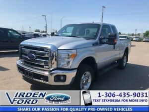 2015 Ford Super Duty F-250 SRW XLT Supercab 4x4 6.2 V8