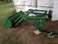 John Deere Loader # 44 JD 420 and 430 Lawn & Garden Tractor FEL