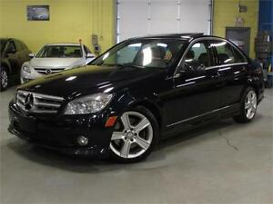 2010 Mercedes-Benz C-Class C300  4MATIC / LEATHER/ SUNROOF/ ALL