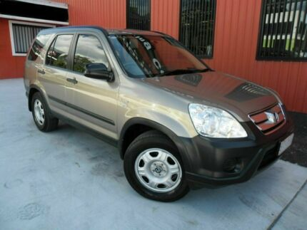 2006 Honda CR-V RD MY2006 4WD Gold 5 Speed Automatic Wagon Molendinar Gold Coast City Preview