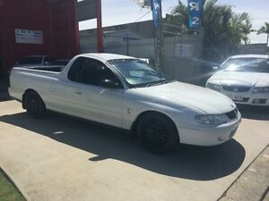 2002 Holden Ute VU II S White Manual Utility Clontarf Redcliffe Area Preview