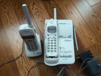 Set of Panasonic Cordless Phones