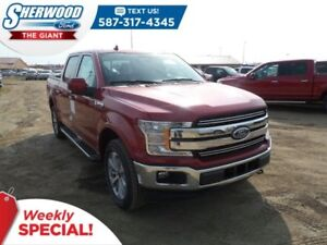 2018 Ford F-150 Lariat 4x4 - SYNC Connect, Moonroof, Tow Package