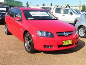 2009 Holden Commodore VE MY09.5 International Sportwagon Red Hot 4 Speed Automatic Wagon