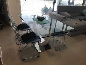 Matt Blatt Dinning Table and Replica Chairs Lutwyche Brisbane North East Preview