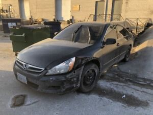 2007 HONDA ACCORD EXL*NAVIGATION*4 CYLINDER*AIR BAGS DEPLOYED*