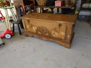 Large Wooden Trunk Beechboro Swan Area Preview