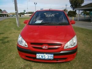 2007 Hyundai Getz SX Red 5 Speed Manual Hatchback