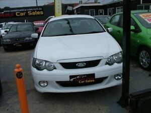 2003 Ford Falcon BA XR6 5 Speed Manual Utility Coburg North Moreland Area Preview