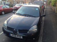 Renault Clio 1.2 Campus Sport. £495. 12 month MOT. Good runner