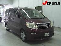 Toyota Alphard 4x4 8 Seat MPV