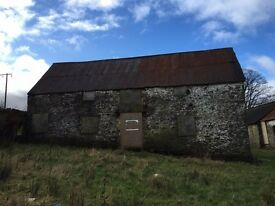 Two Barns with Residential Planning for Sale in Cilfynydd Pontypridd