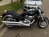 2011 SUZUKI BOULEVARD M109R; 2,600 KMs;1 OWNER; NEVER DROPPED
