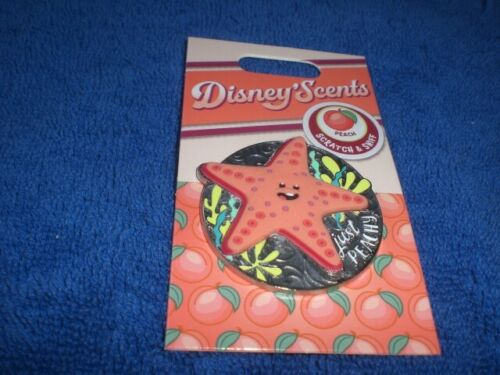 Disney 2020 DLR DISNEY SCENTS SCRATCH AND SNIFF Finding Nemo PEACH  LE Pin
