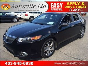 2012 ACURA TSX A-SPEC 6 SPEED MANUAL HEATED LEATHER SUNROOF