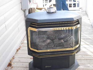 natural gas free standing stove regency