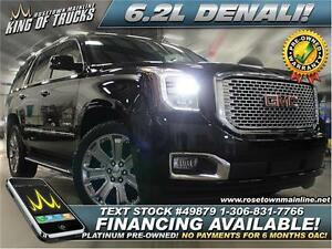 2015 GMC Yukon Denali Blu-Ray | Nav | Factory Warranty
