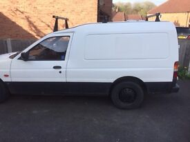 Ford escort transit 1.8 diesel fully working ready for work