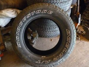 pneus bridgeston dueler A/T