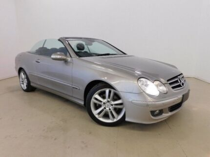 2006 Mercedes-Benz CLK350 A209 MY07 Avantgarde Silver 7 Speed Sports Automatic Cabriolet Mansfield Brisbane South East Preview