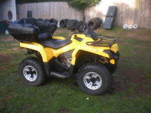 2015 Can Am 450e Has 415 Klms And Powersteering