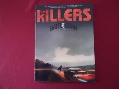 Killers - Balttleborn . Songbook Notenbuch Piano Vocal Guitar PVG
