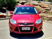 2014 Ford Focus LW MKII MY14 Trend PwrShift Red 6 Speed Sports Automatic Dual Clutch Hatchback Littlehampton Mount Barker Area Preview