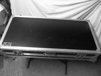 Turntable & Mixer DJ Coffin Flight Case for Technics SL 1200 1210 or Similar