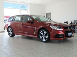 2015 Holden Commodore VF MY15 SV6 Red 6 Speed Automatic Sportswagon Morley Bayswater Area Preview