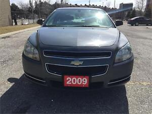 2009 Chevy Malibu 4 Cylinder/Clean Carproof/Certified & E-Tested