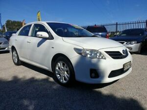 2012 TOYOTA COROLLA ASCENT SPORT SEDAN, AUTOMATIC, LOW KMS, SERVICE HISTORY, 2021 REGO, JUST SERVICE Penrith Penrith Area Preview
