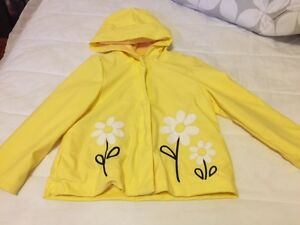Girl Size 4-5 Spring/ Summer Coat with Hood from Gymboree