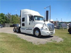 2011 INTERNATIONAL PROSTAR, CUMMINS ISX , 4 WAY LOCKERS
