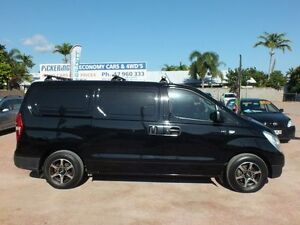 2010 Hyundai iLOAD TQ-V Black 5 Speed Manual Van Rosslea Townsville City Preview