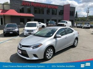 2016 Toyota Corolla LE w/heat seat, rear cam, bluetooth