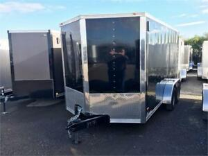 "7X14 Cargo Trailers 6'6"" Tall, 6"" Frame, 15"" radial tires & More"