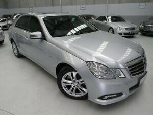 2009 Mercedes-Benz E220 212 CDI Avantgarde Sterling Silver 5 Speed Automatic Sedan