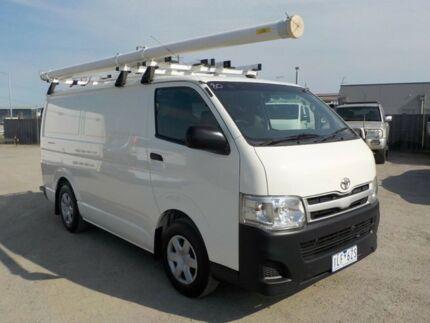 2011 Toyota Hiace White Manual Van