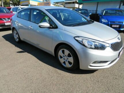 2015 Kia Cerato YD MY15 S Silver 6 Speed Automatic Sedan