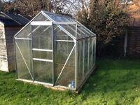 8' x 4' glass/green house