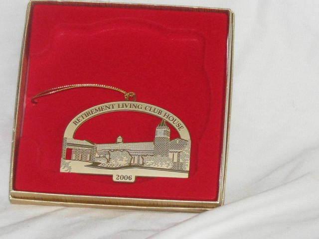 Masonic Retirement Home Christmas Ornament