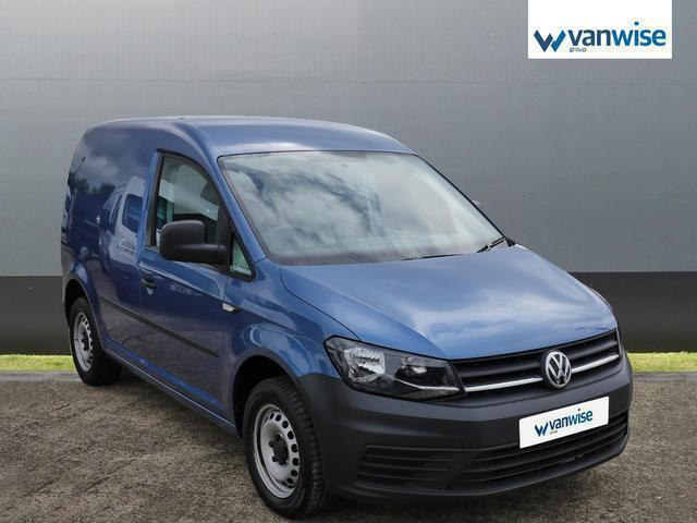 2016 Volkswagen Caddy 2.0 TDI BlueMotion Tech 102PS Startline Van Diesel blue Ma