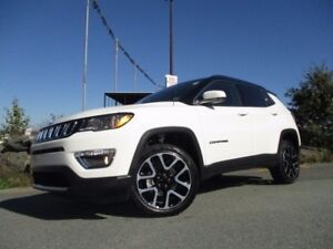 2017 Jeep COMPASS Limited (4X4, LEATHER, NAVIGATION, REVERSE CAM